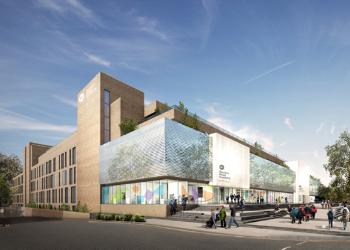 Northampton International Academy building nears completion