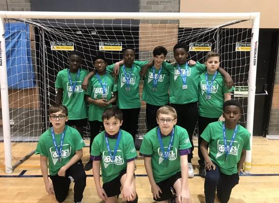 Boys Handball Medal