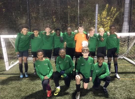 Y8 Boys Football Team