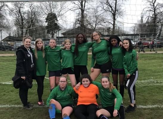 Y8 Girls Football